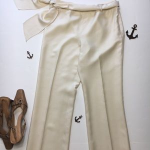 J. McLaughlin Silk Lined Trousers, sz 6